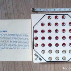 Juegos antiguos: JUGUETE, JUEGO DE MESA O VIAJE DE BOLSILLO EL SOLITARIO. Lote 295494108