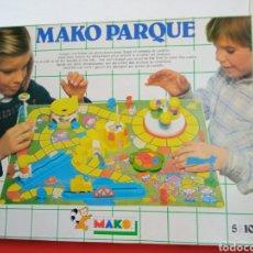 Juegos antiguos: JUEGO PARQUE DE ATRACCIONES MAKO.TESMA 1983.NUEVO EN CAJA.. Lote 296864168