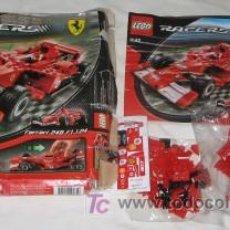 Juegos construcción - Lego: LEGO RACERS, FERRARI 248 F1 1:24. Lote 27335259