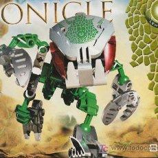 Juegos construcción - Lego: LEGO BIONICLE, NUMERO 8576 ;LEHVAK-KAL. Lote 27278780