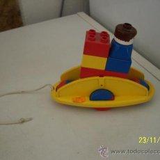 Juegos construcción - Lego: JUGUETE DE ARRASTRE- LEGO- MIDE 13 X 15 X 6.5 CM-. Lote 16048589