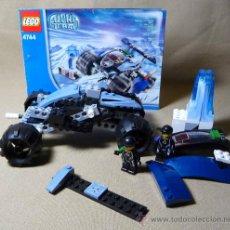 Juegos construcción - Lego: VEHICULO TUNDRA TRACKER, ALPHA TEAM, Nº 4744, LEGO, INCOMPLETO. Lote 21771001