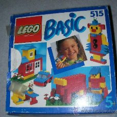 Juegos construcción - Lego: ANTIGUA CAJA LEGO BASIC 515. Lote 24882511