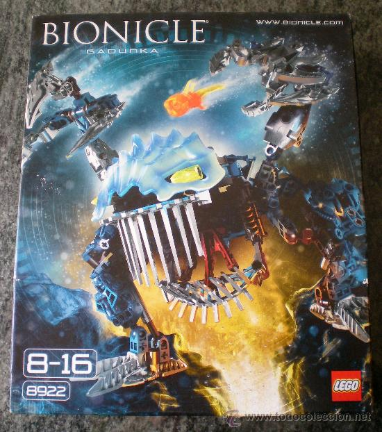Caja Lego Bionicle Gadunka 8922 Buy Building And Construction