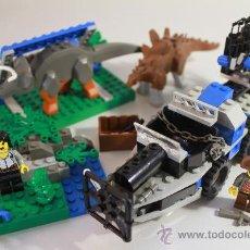 Juegos construcción - Lego: LEGO 5955-1 ADVENTURERS, DINO ISLAND, ALL TERRAIN TRAPPER, 2000. Lote 31564248
