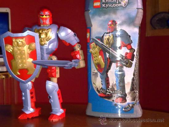 LEGO Nº 8794 KINGHTS KINGDOM SIR SANTIS CABALLERO LEGENDARIO COMPLETO Y SIN USO (Juguetes - Construcción - Lego)