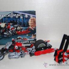 Juegos construcción - Lego: LEGO RACERS 8645 MUSCLE SLAMMER BIKE. Lote 35967941