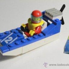 Juegos construcción - Lego: LEGO 6508, LEGOLAND 1990 WAVE RACER, LANCHA. Lote 36532990