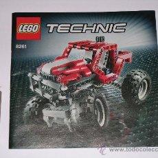 Juegos construcción - Lego: MANUAL DE INSTRUCCIONES LEGO TECHNIC 8261. Lote 36432108