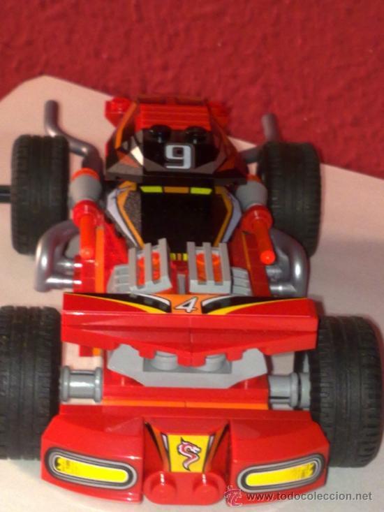 LEGO COCHE CON TRACCIÓN TRASERA POR FRICIÓN ORIGINAL PARECE UN 4X4 MUY ORIGINAL VER FOTOS (Juguetes - Construcción - Lego)