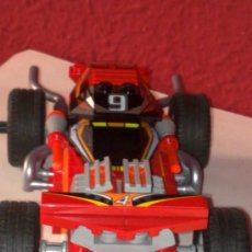 Juegos construcción - Lego: LEGO COCHE CON TRACCIÓN TRASERA POR FRICIÓN ORIGINAL PARECE UN 4X4 MUY ORIGINAL VER FOTOS. Lote 36463683