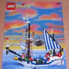 Juegos construcción - Lego: FOLLETO LEGO 6280 AÑO 1996. Lote 100767660