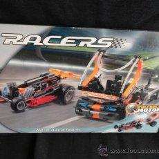 Juegos construcción - Lego: LEGO RACERS 8473 NITRO RACE TEAM DRAGSTER CON CAJA + INSTRUCCIONES. Lote 96315911