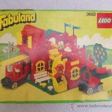 Juegos construcción - Lego: LEGO FABULAND 3682 (1987). Lote 37964876