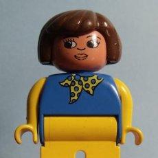 Juegos construcción - Lego: FIGURA PVC MUJER LEGO DUPLO. Lote 40006550