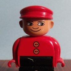 Juegos construcción - Lego: FIGURA HOMBRE PVC LEGO DUPLO. Lote 40006566