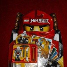 Juegos construcción - Lego: LEGO NINJAGO MASTERS OS SPINJITZU - KRAZI REF. 2116 NUEVO EN SU BLISTER OFERTA!!. Lote 40272162