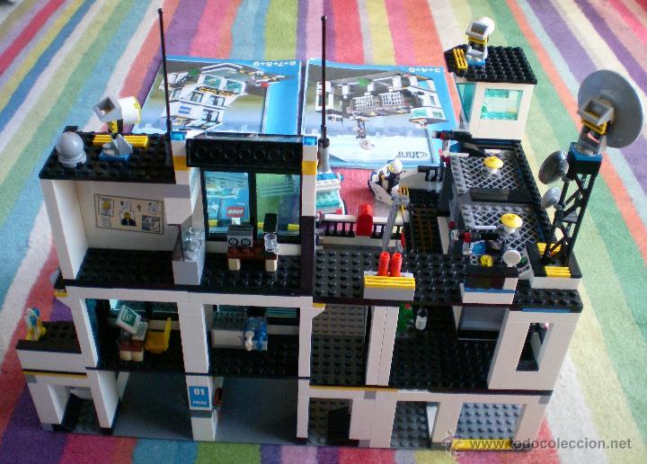 Lego City Comisaria De Policia 7744 Desca Comprar Juegos