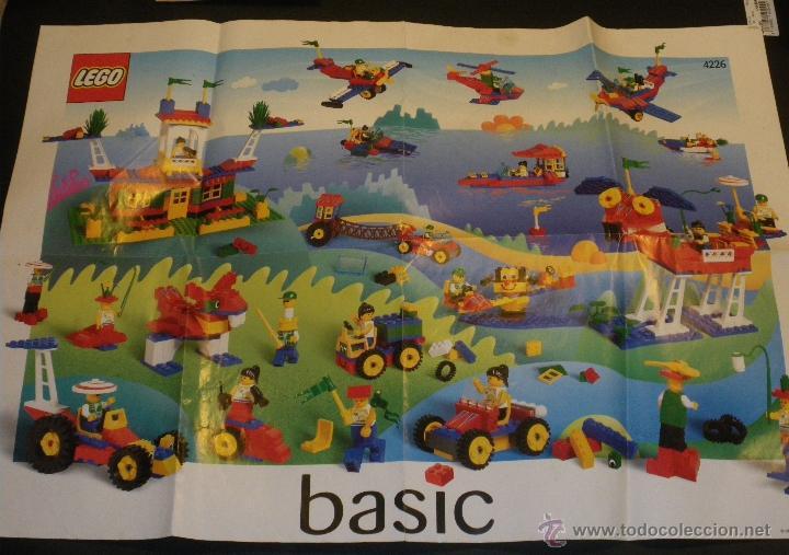 LEGO - POSTER REFERENCIAS 1998- LEGO BASIC (Juguetes - Construcción - Lego)