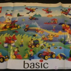 Juegos construcción - Lego: LEGO - POSTER REFERENCIAS 1998- LEGO BASIC. Lote 40933193