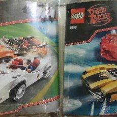Juegos construcción - Lego: SPEED RACER, SPEED RACER & SNAKE OILER, REF.8158-RACER X & TAEJO TOGOKHAN, REF.8159. Lote 41118507