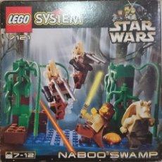 Juegos construcción - Lego: LEGO STAR WARS, NABOO SWAMP, REF.7121, 1999, CAJA ABIERTA, COMPLETO. Lote 41134923