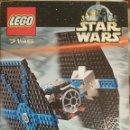 Juegos construcción - Lego: LEGO STAR WARS, TIE FIGHTER, REF.7146, 2001, CAJA ABIERTA, COMPLETO. Lote 41135073