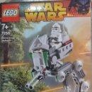 Juegos construcción - Lego: LEGO STAR WARS, CLONE SCOUT WALKER, REF.7250, 2005, CAJA ABIERTA, COMPLETO. Lote 41135114
