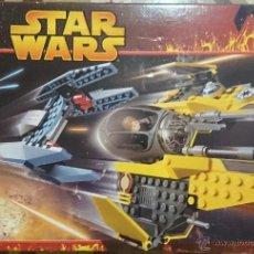 Juegos construcción - Lego: LEGO STAR WARS, JEDI STARFIGHTER & VULTURE DROID, REF.7256, 2005, CAJA ABIERTA, COMPLETO. Lote 41135253