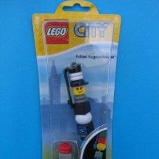 Juegos construcción - Lego: BOLÍGRAFO LEGO. POLICIA.. Lote 98553296