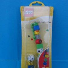 Juegos construcción - Lego: BOLÍGRAFO LEGO. FUTBOLISTA.. Lote 42387445