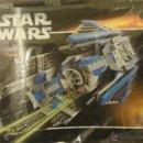 Juegos construcción - Lego: LEGO STAR WARS REF.6206 TIE INTERCEPTOR 2006. Lote 42850853