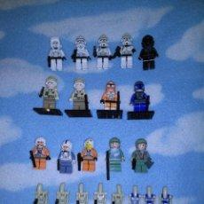 Juegos construcción - Lego: LOTE FIGURAS FIGURITAS LEGO STAR WARS. Lote 44306435