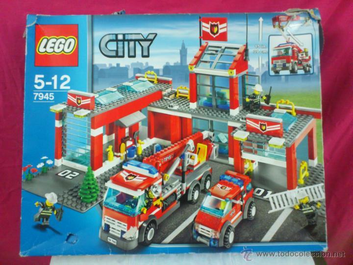 Lego City 7945 Fire Station Comprar Juegos Construccion Lego