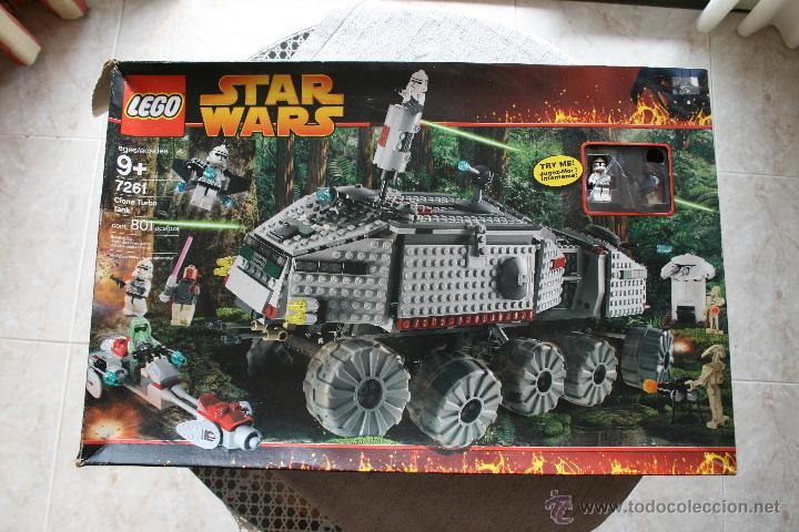 STAR WARS LEGO CLONE TURBO TANK 7261 COMPLETO NUEVO (Juguetes - Construcción - Lego)