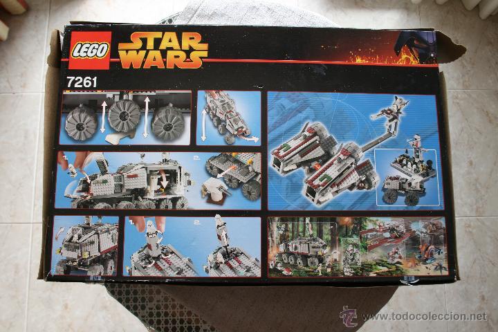 Juegos construcción - Lego: Star Wars Lego Clone Turbo Tank 7261 Completo Nuevo - Foto 2 - 45012769