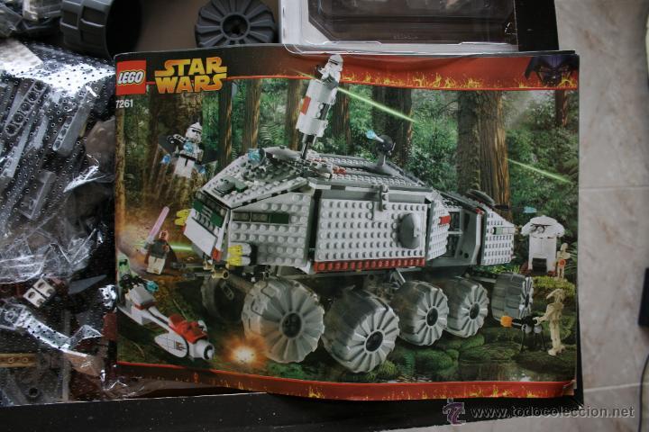 Juegos construcción - Lego: Star Wars Lego Clone Turbo Tank 7261 Completo Nuevo - Foto 10 - 45012769