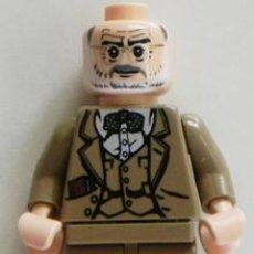 Juegos construcción - Lego: LEGO DOCTOR JONES PADRE DE INDIANA JONES FIGURA MUÑECO JUGUETE - ES SEAN CONNERY EN PELÍCULA DE CINE. Lote 45240229