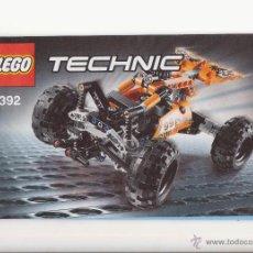 Juegos construcción - Lego: MANUAL DE INSTRUCCIONES LEGO TECHNIC. Lote 45323899