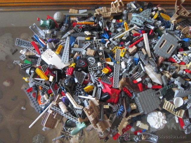 Juegos construcción - Lego: Gran lote de piezas de construcción LEGO variadas. - Foto 2 - 45596602