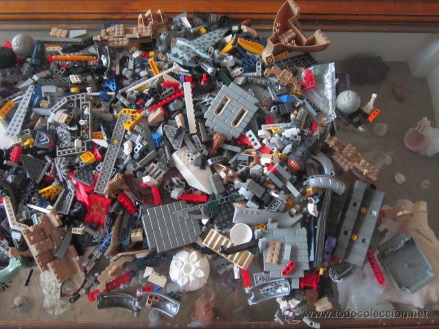 Juegos construcción - Lego: Gran lote de piezas de construcción LEGO variadas. - Foto 3 - 45596602