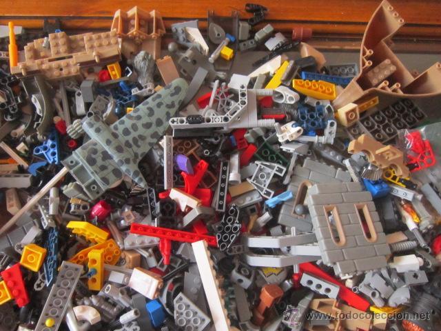 Juegos construcción - Lego: Gran lote de piezas de construcción LEGO variadas. - Foto 5 - 45596602
