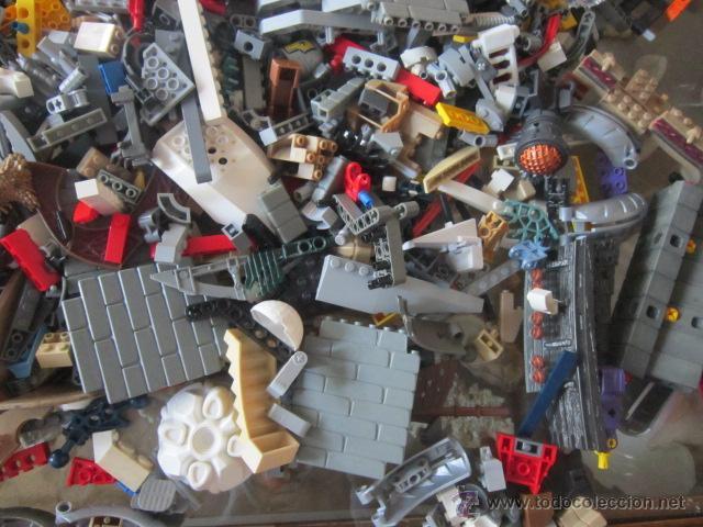 Juegos construcción - Lego: Gran lote de piezas de construcción LEGO variadas. - Foto 6 - 45596602