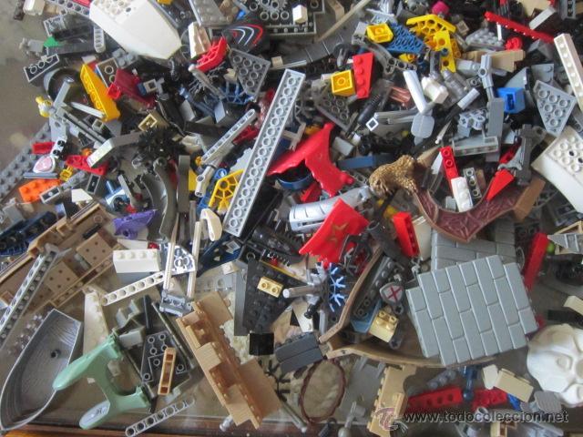Juegos construcción - Lego: Gran lote de piezas de construcción LEGO variadas. - Foto 7 - 45596602