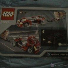 Juegos construcción - Lego: LEGO 8650 FURIUS SLAMMER RACER. Lote 45687530