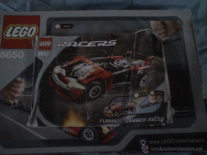 Juegos construcción - Lego: LEGO 8650 FURIUS SLAMMER RACER - Foto 5 - 45687530