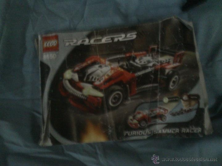 Juegos construcción - Lego: LEGO 8650 FURIUS SLAMMER RACER - Foto 6 - 45687530