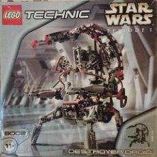 Juegos construcción - Lego: LEGO TECNIC STAR WARS DESTROYER DROID, 1999, REF.8002. Lote 45827388
