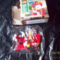 Juegos construcción - Lego: FIGURA PAYASO BUFON LEGO KINGDOMS - EN SU BLISTER ORIGINAL ¿ AÑOS 80-90 ? - CON CAJA ABIERTA. Lote 46677510