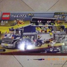 Juegos construcción - Lego: SET LEGO 8635 NUEVO DESCATALOGADO 2008, AGENTS MISSION 6 CAJA GRANDE DE 1154 PIEZAS Y 64 CM DE LARGO. Lote 46879574